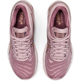 asics Gel-Nimbus 22 Shoes Women watershed rose/rose gold